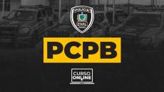 PCPB - Polícia Civil da Paraíba (Agente e Escrivão)
